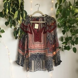 ✨ NWT Lucky Brand Blouse ✨
